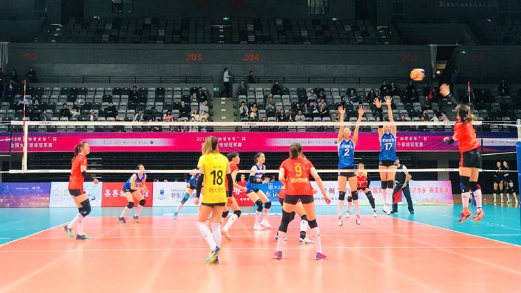 2019年全国女排冠军赛:两主力队员回归助力山东队3-0上海队豪取三连胜