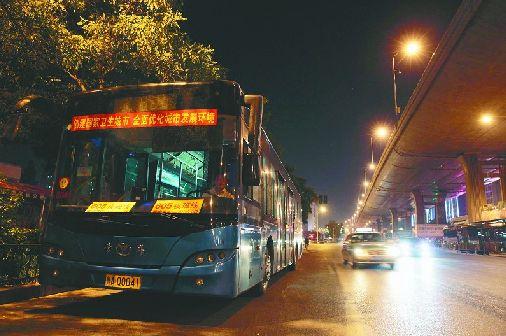 曲阜D09路夜班公交16日开通 方便游客市民出行