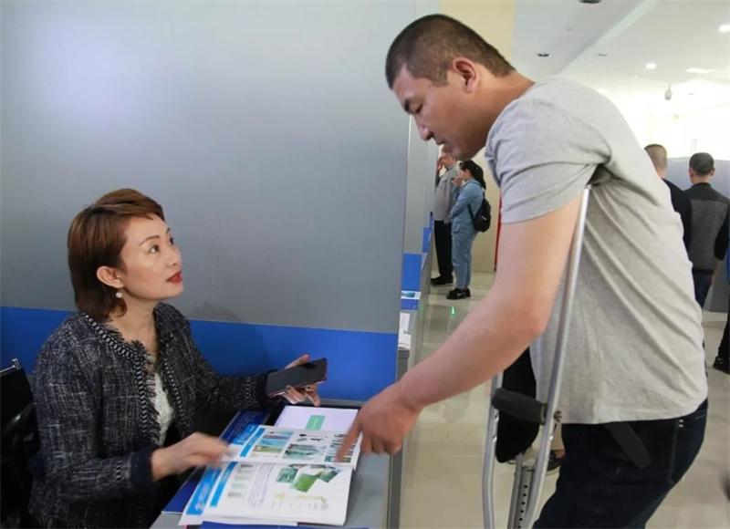 济宁举办帮扶残疾人就业专场招聘会 200余人次达成初步就业意向
