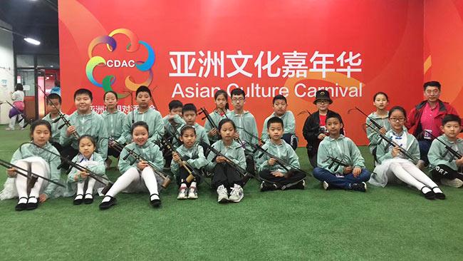 德州这些京剧小演员厉害了!参演亚洲文化嘉年华大型京剧表演《盛世梨园》