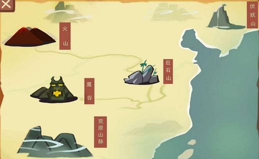 游戏UI界面简洁明了!山工