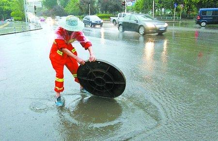 每逢下雨路面积水严重!聊城城区这些易积水点正在施工