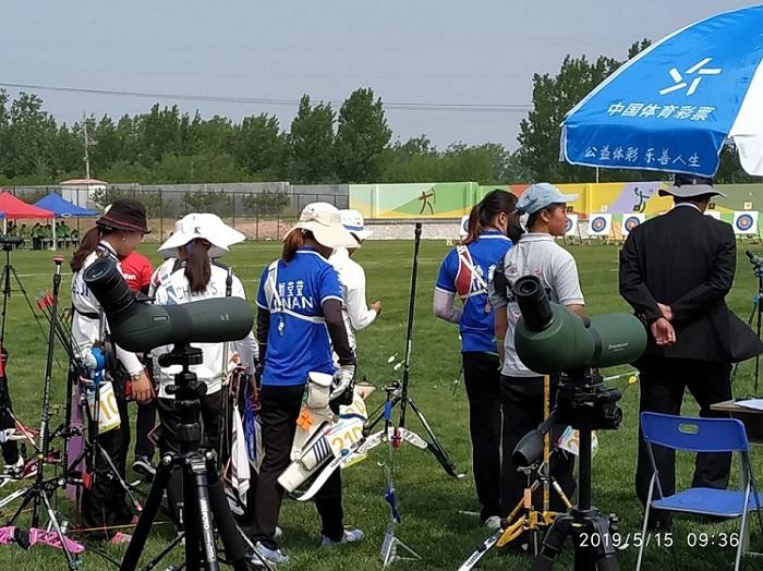 二青会射箭项目预赛莱西落幕 济南体校拿到全员12个决赛席位