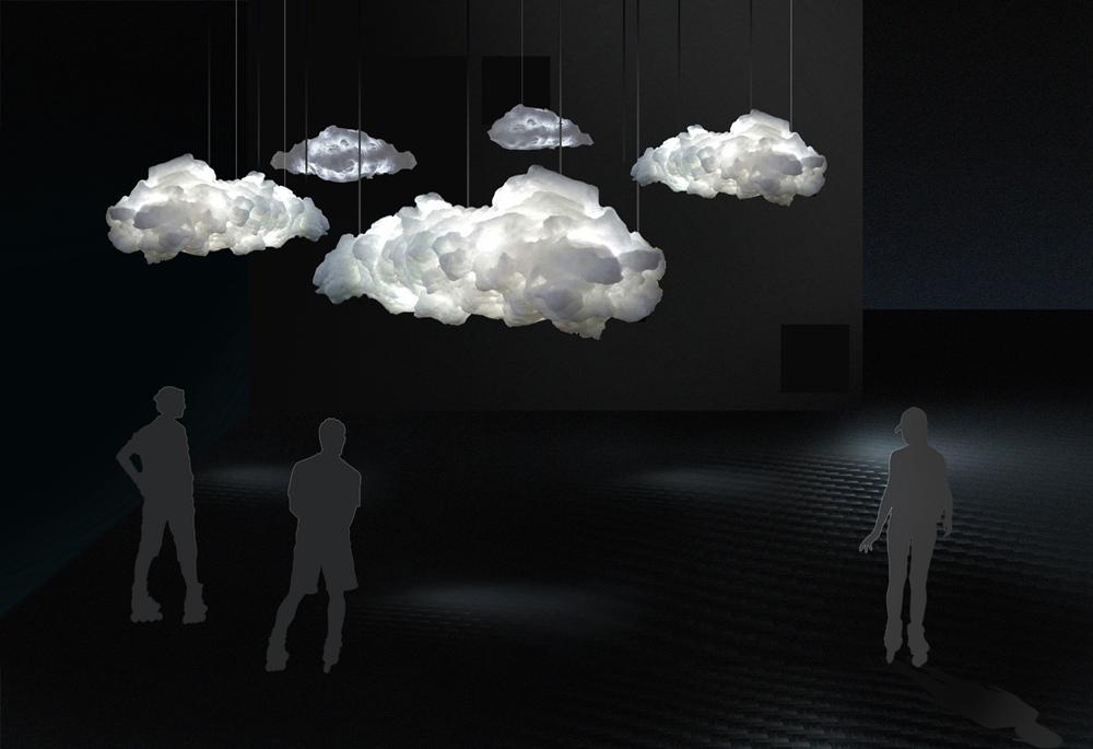 互动式声光电装置《惊蛰》 一个可以让体验者尽情发泄的装置艺术作品