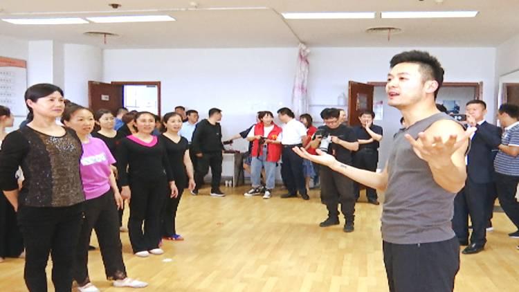 71秒丨美术、舞蹈、摄影……中国文联文艺志愿服务队在寿光开课啦!
