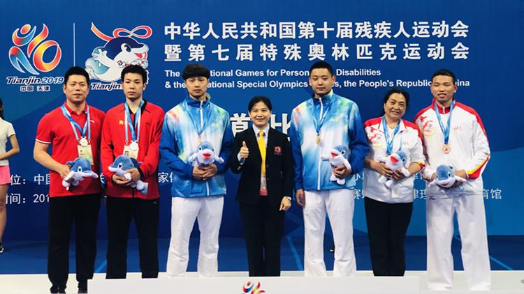 山东残疾人跆拳道竞技队主教练崔大星:来中国执教是我的梦想