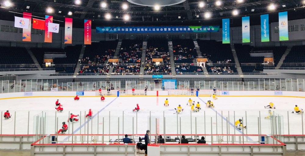 分量十足!残运会冰球决赛 山东2:0河北强势夺金
