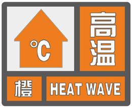 海丽气象吧丨潍坊发布高温橙色预警信号 23日最高温达37℃