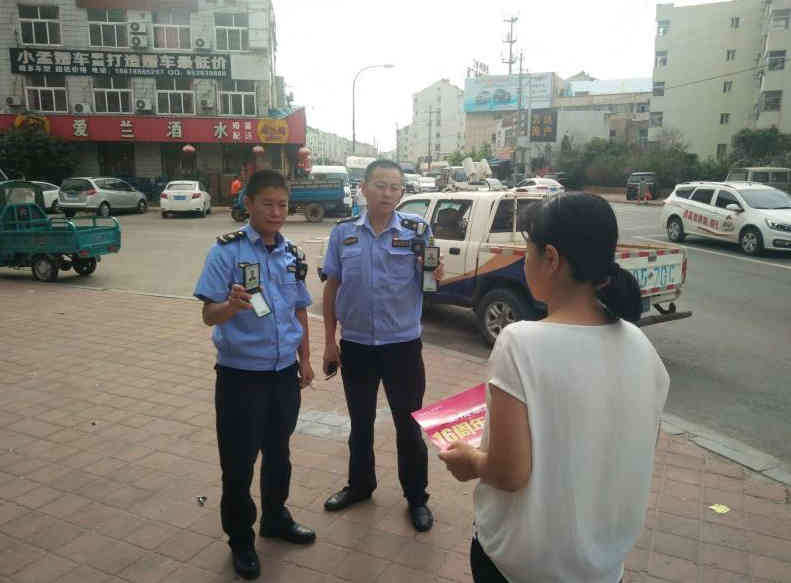 青岛开展违法散发广告传单专项整治行动 为期两个月