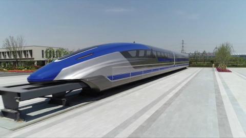 45秒|时速600公里高速磁浮试验样车青岛下线 商用后北京到上海只需2.5小时