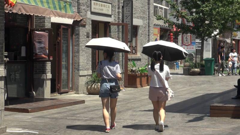 30秒|井盖能煎鸡蛋 济南泉城广场地表温度突破50℃