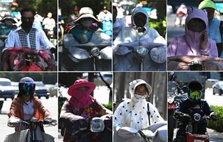 """济南最高温飙至39℃ 街头花式避暑""""神器""""感受下"""