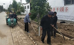 """退休不褪色!阳谷这位81岁老党员变身农村人居环境整治""""领头雁"""""""