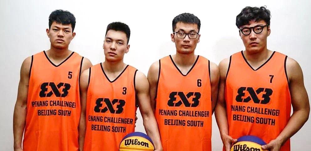 山东男篮陈培东出战三人篮球亚洲杯
