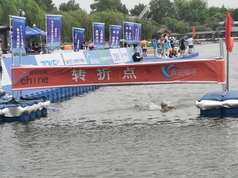 38秒丨辛鑫获全国马拉松游泳冠军赛女子十公里个人赛冠军