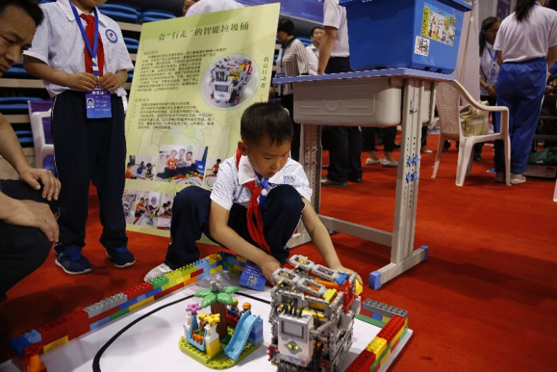 1300多名选手同场竞技,山东省青少年机器人竞赛在威海开幕