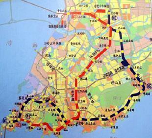 20秒丨青岛地铁4号线沙子口静沙区间施工段发生坍塌,初步确定5名工人被困