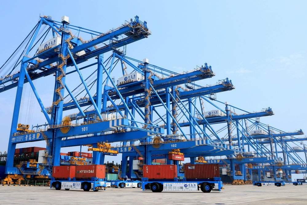 1—4月份山东沿海港口吞吐量突破5亿吨,同比增8.8%