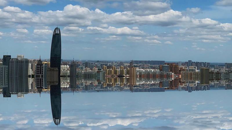 镜像济南!33秒延时摄影看泉城天空云卷云舒