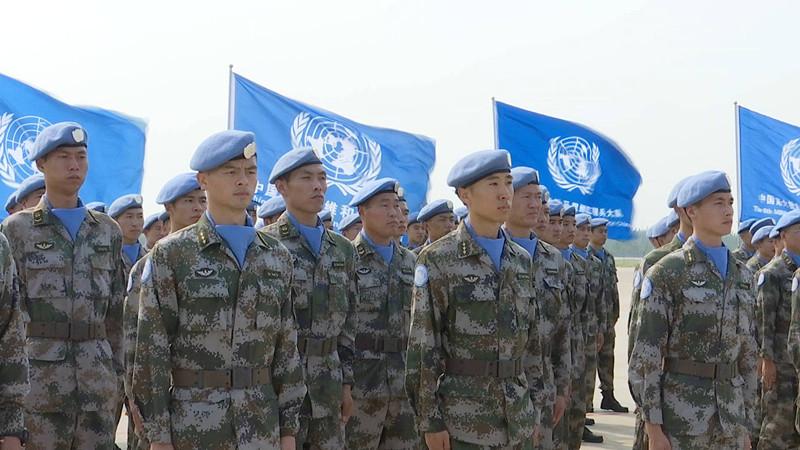 55秒 致敬!中国第六批赴马里维和部队全部回国