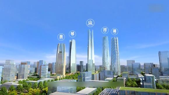 """绸带公园初容已现,未来这里将成为24小时现代活力""""华尔街"""""""