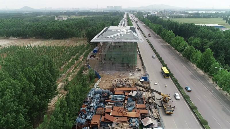 """济宁人关心的""""云轨""""项目有新进展了:2020年6月能通车"""