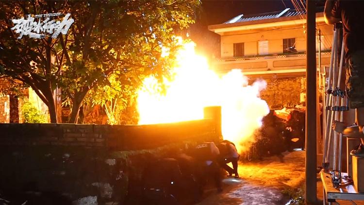 《破冰行动》强势登陆山东卫视 拍摄花絮曝光燃炸屏幕