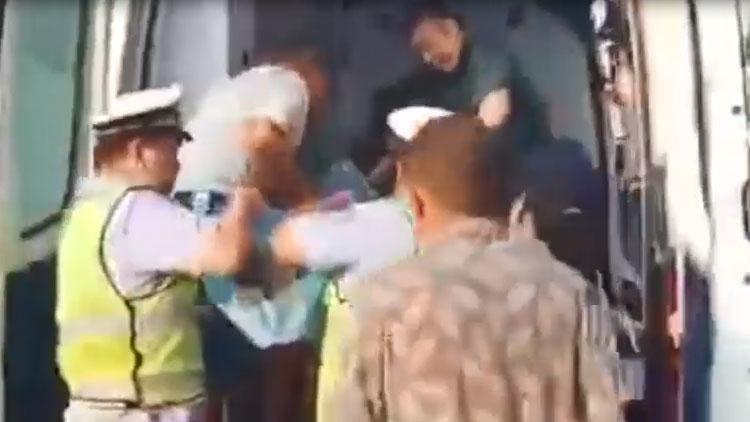 53秒丨一女子喝农药轻生 滨州惠民交警历时29分钟完成生命接力