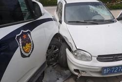 惊心动魄!嫌疑人携匕首、假牌、吸毒工具作案 警车迎面撞车强行拦截
