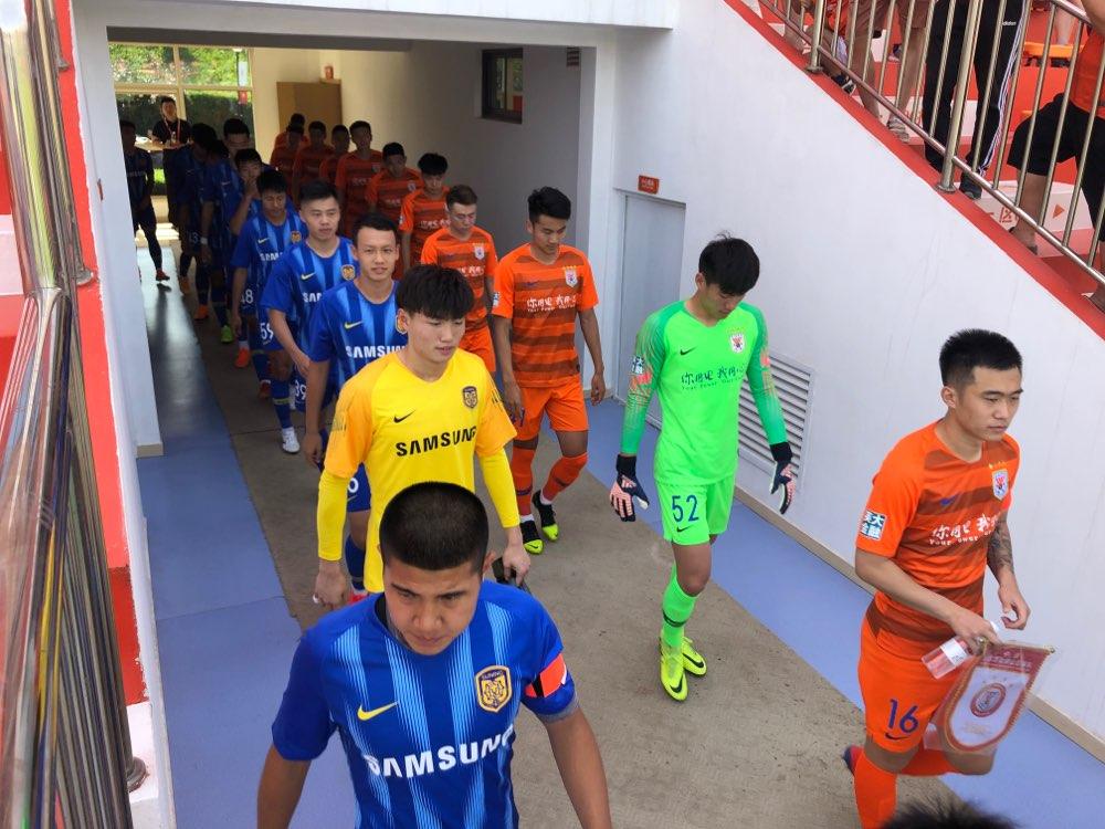 预备队继续进行!刘超阳进球,鲁能2-1战胜苏宁
