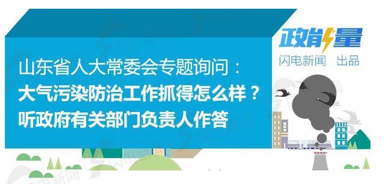 政能量|接连16问!山东省人大常委会专题询问大气污染防治工作