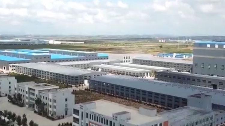 【动能转换看落实·大竞赛 大比武】威海:仅用100天 6栋厂房顺利封顶