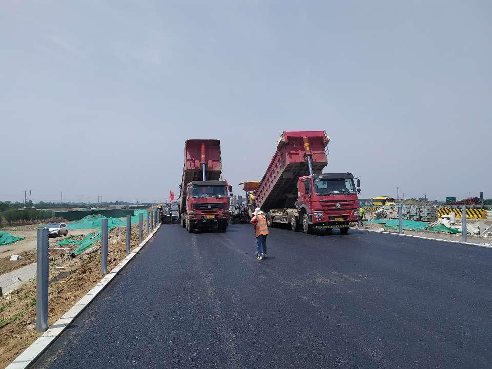 继续冲刺!济青高速小许家以东段确保在今年7月底建成通车