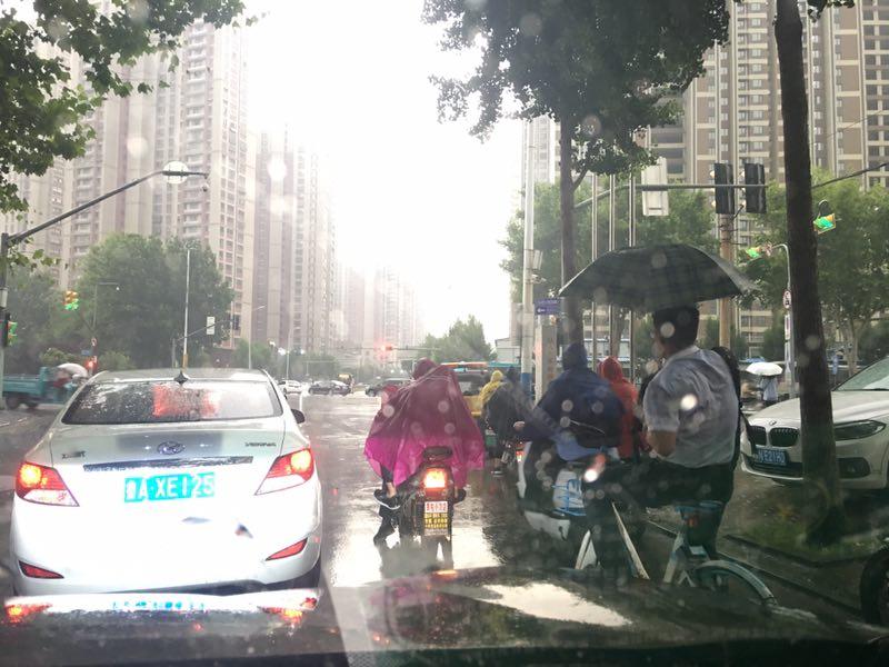 海丽气象吧丨高考前的消暑!6月5日早济南部分地区降下大雨