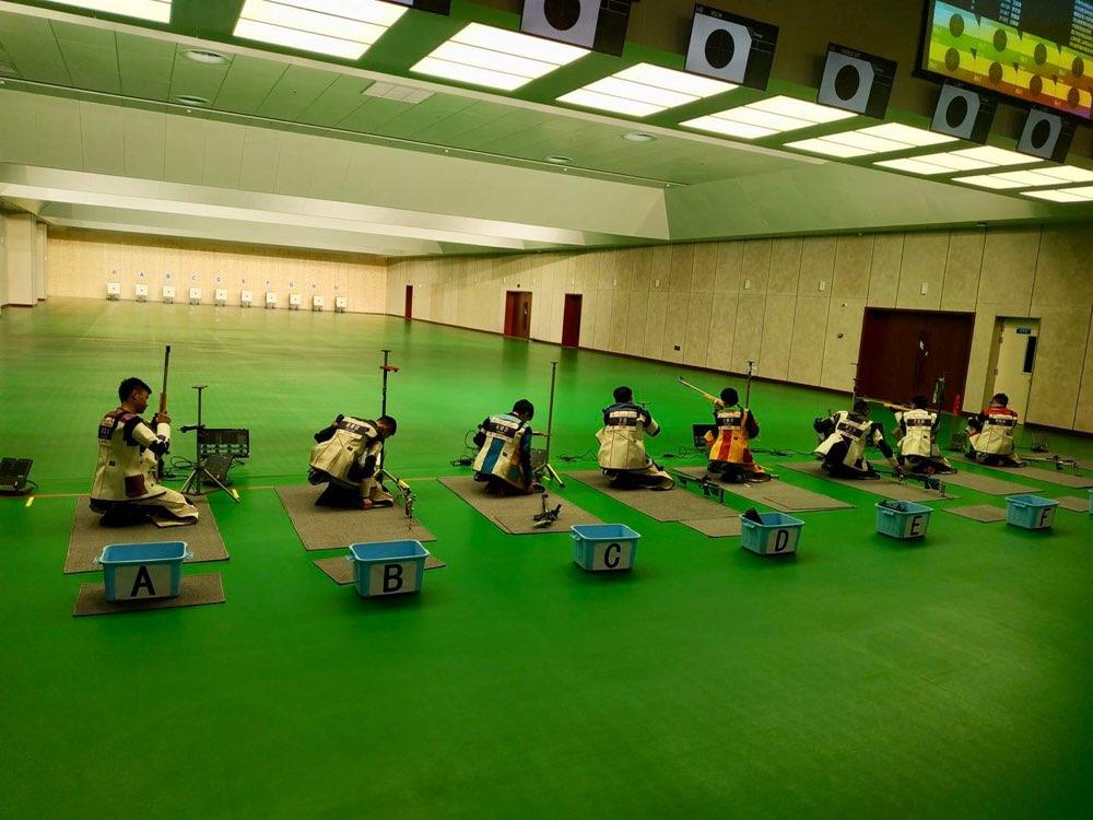 二青会射击预赛步枪项目济南市体校获1金3银1铜