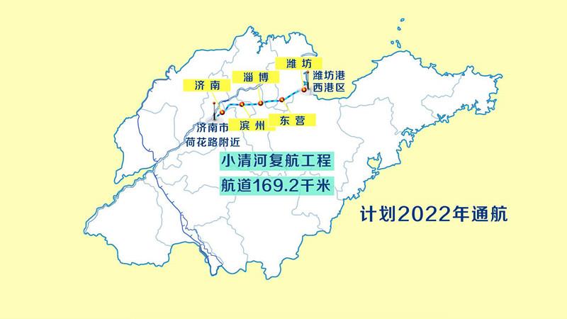 投资136亿!小清河复航工程有望2022年运营,从济南坐船出海不再是梦