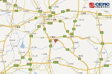 泰安发生2.9级地震,震源深度7千米!一图看懂遇到地震如何自救