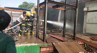 莘县一食品厂火灾已被扑灭 警方提醒:勿传播不实信息