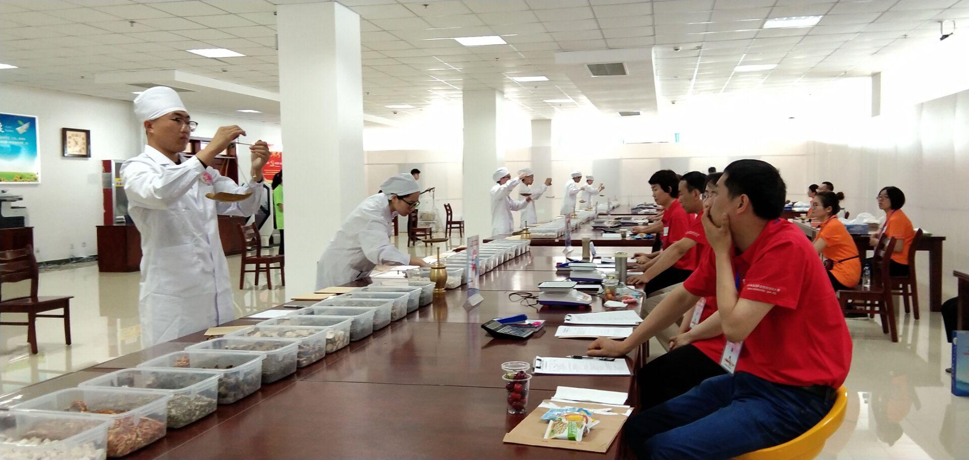 2019年全国职业院校技能大赛中药传统技能赛在烟台举行