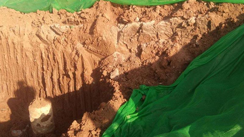 110秒|丁宝桢家族副族长济南探墓受阻 考古专家:墓葬主人身份还不能确定