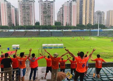 鲁能预备队3-1重庆  一线队抵达广州备战亚冠