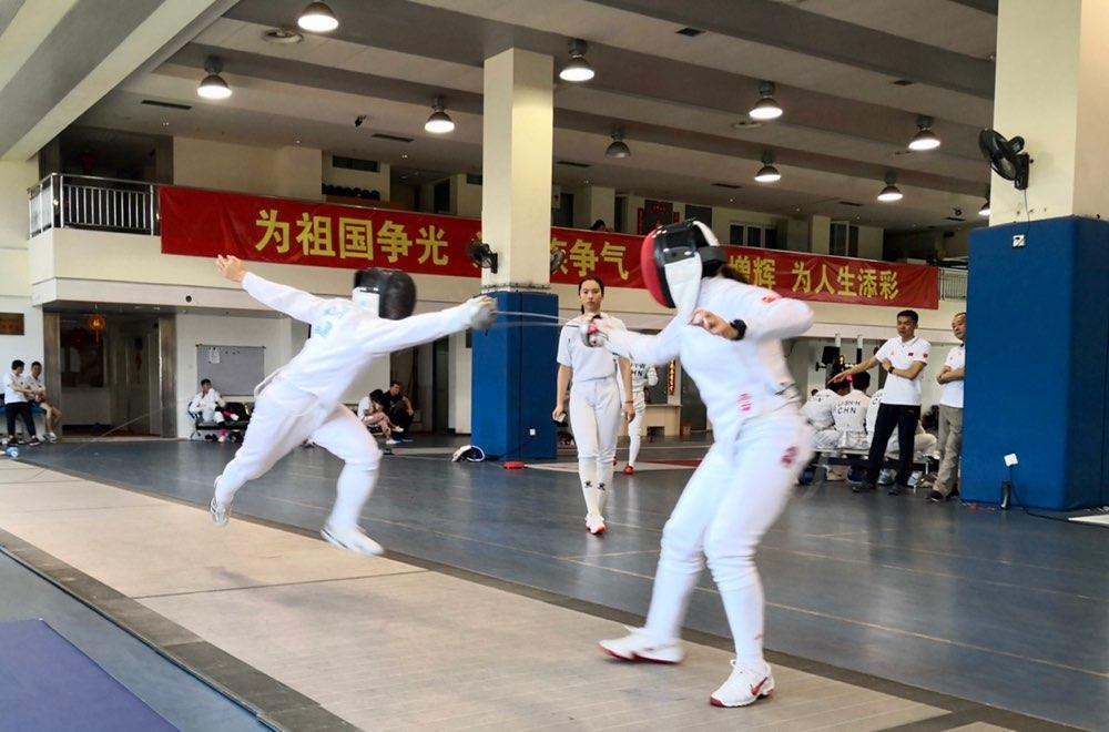 中国现代五项队以赛带练备战世界杯总决赛 6月25日赴日本东京