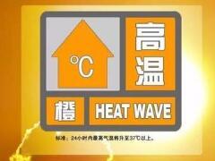 海丽气象吧 | 山东将高温黄色预警升级为高温橙色预警 6个市局部高达39度