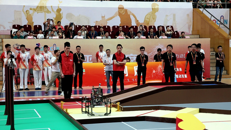 记录平凡|机器人总动员! 参加这个比赛的大学生个个是顶级学霸