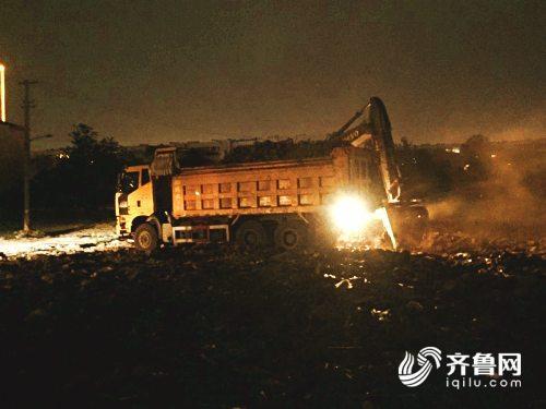 山東追蹤報道丨干凈了!濰坊北胡社區建筑工地垃圾預計6月20日清理完畢