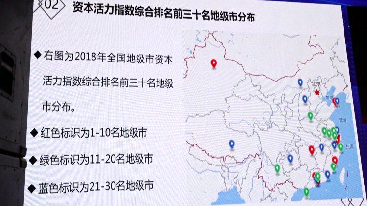 """39秒丨""""中国地级市资本活力指数""""在潍坊发布 这些城市上榜了"""