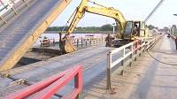 35秒丨济南泺口黄河浮桥今日拆除 预计7月初或将重新铺设