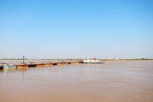 东营这些黄河浮桥已经拆除 过往车辆请注意绕行