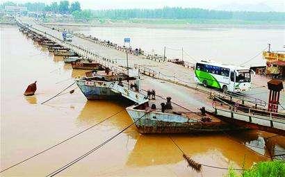 济南17座黄河浮桥今天将全部拆除