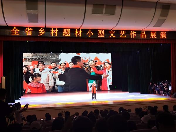 全省乡村题材小型文艺作品展演在菏泽市举行